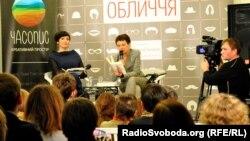 Українська письменниця Оксана Забужко, Київ, 11 березня 2013 року
