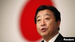 Japanese Prime Minister Yoshihiko Noda