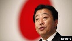Prime Minister Yoshihiko Noda (file photo)