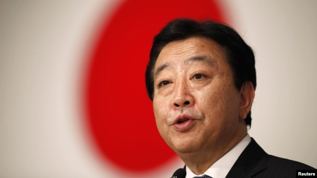 Prime Minister Yoshihiko Noda (file photo)