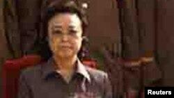 Ким Гук Тхэ, тётя северокорейского лидера Ким Чен Ына и вдова казненного политика Чан Сон Тхэка.