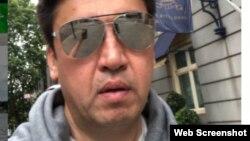 Шымкент қаласының экс-әкімі Ғабидолла Әбдірахымовтың Лондонда түсірген видеосынан үзінді.