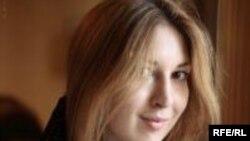 Russia -- Pavlova Svetlana, RFERL employee, Moscow bureau, undated