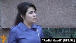 Ҷамила Азизова дар сӯҳбат бо радиои Озодӣ
