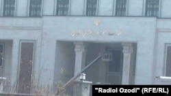 Здание посольства Ирана в Душанбе