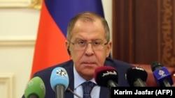 Ministrul de externe rus Sergei Lavrov