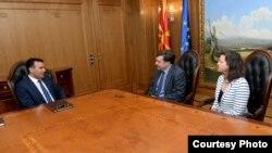 Премиерот Зоран Заев на средба со вршителот на должност заменик-помошник државен секретар на САД, Метју Палмер