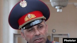 Начальник Полиции Армении Алик Саргсян