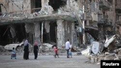 Ratna razaranja u Siriji