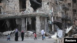 At least 250,000 people are estimated to have been killed since the start of Syria's civil war in 2011. (file photo)