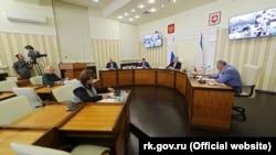 Заседание российского правительства Крыма, 14 июля 2020 года