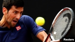 Serbian tennis player Novak Djokovic (file photo)