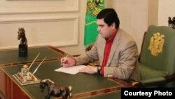 Prezident Gurbanguly Berdimuhamedow