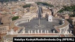 Vatikan - Müqəddəs Pyotr meydanı
