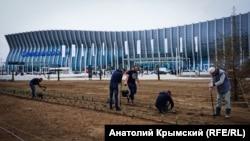 Новий термінал аеропорту Сімферополя. 16 квітня 2018 року