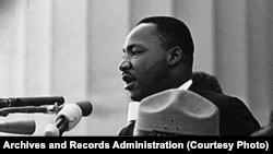 Мартин Лютер Кинг зимни суханронӣ