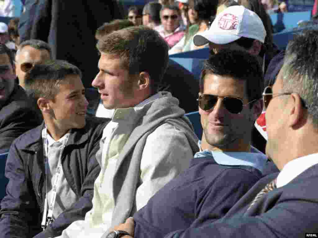 """Drugi teniski ATP turnir """"Serbia Open"""", održan je u konkurenciji 50 igrača iz 21 zemlje u Beogradu, ( 03.-09.05.). Domaćin je Drugi teniski ATP turnir """"Serbia Open"""", održan je u konkurenciji 50 igrača iz 21 zemlje u Beogradu, ( 03.-09.05.). Domaćin je bio Novak Đoković, a turnir je osvojio amerikanac Sam Querry, pošto je u finalu savladao svog zemljaka Johna Iznera sa 2:1 (3:6, 7:6, 6:4). Foto: Vesna Anđić"""
