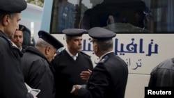 Сотрудники сил безопасности Египта. Иллюстративное фото.