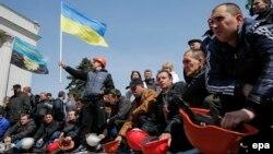 Акції протесту шахтарів, 23 квітня 2015 року