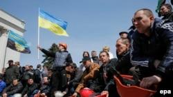 Протестот на рударите во Украина