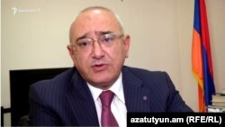 Armenia - Tigran Mukuchian, chairman of the Central Election Commission, 30April, 2017