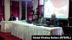 جانب من المؤتمر الثالث للمركز العلمي العراقي في جامعة دهوك