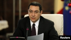 Романскиот премиер Виктор Понта