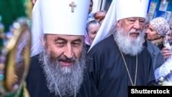 Голова УПЦ (Московського патріархату) митрополит Онуфрій (л)