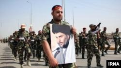 На противагу наступу сунітських бойовиків шиїти пройшли маршем у Багдаді, 21 червня 2014 року