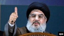 Лидер ливанской группировки «Хезболла» Хасан Насралла.