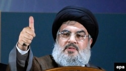 Hezbollah chief Hassan Nasrallah (file photo)