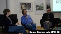 Ana Pejović, Ognjen Spahić i Vladimir Arsenijević