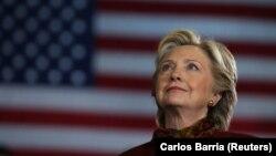 Кандидат в президенты от Демократической партии США Хиллари Клинтон. 22 октября 2016 года.