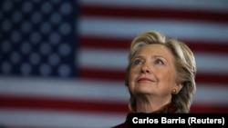 АКШ президенттигине Демократиялык партиядан талапкер Хиллари Клинтон.