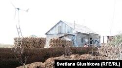 Қоянды ауылына көшіп келген оралман үйі. (Көрнекі сурет)
