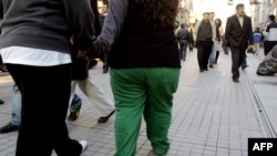 Obesity is becoming an increasing problem in Central Asia and the Caucasus. (file photo)