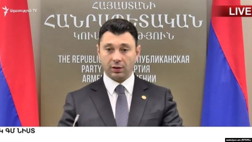 Шармазанов: В политической борьбе должны применяться исключительно конституционные методы