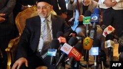 "Лидер движения ""Братья-мусульмане"" Мохаммед Бади."