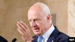 ستیفن دی میستورا نماینده خاص سازمان ملل متحد برای سوریه