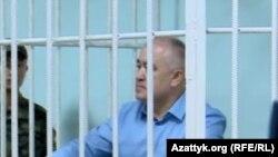 """Оппозициядагы """"Ата Мекен"""" партиясынын лидери Өмүрбек Текебаев. 05.6.2017."""