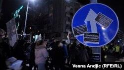"""Sa protesta """"1 od 5 miliona"""" u Beogradu, 2. mart"""