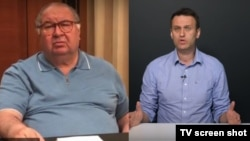 Алишер Усмонов ва Алексей Навалний