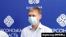 Заместитель министра по вопросам реинтеграции временно оккупированных территорий Украины Игорь Яременко, архивное фото