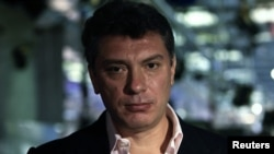 Russian opposition leader Boris Nemtsov was recorded making disparaging comments about fellow dissenters.