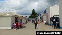 На Грабянёўскім рынку пакупнікоў няшмат
