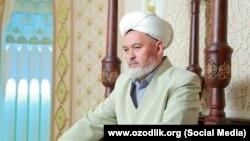 Имам-хатиб ташкентской мечети «Тинчлик» («Мир») Шермурод Тогай (Алишер-домла).