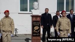 Открытие памятника Амет-Хану Султану в Алупке, 25 октября 2018 года