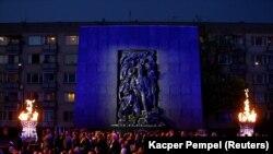 Концерт по случаю 75-й годовщины начала восстания в гетто, Варшава, 19 апреля 2018 года