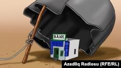 """Bank"". Karikatura"