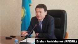 Әділет министрі Марат Бекетаев. Нұр-Сұлтан, 2 тамыз 2019 жыл.
